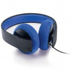 SILVER WIRED STEREO HEADSET