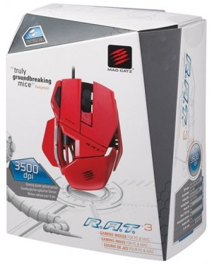 MOUSE GAMER CYBORG R.A.T. 3