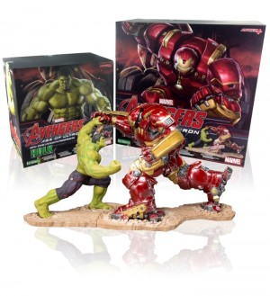 IRON MAN HULKBUSTER VS HULK (THE AVENGERS AGE OF ULTRON)