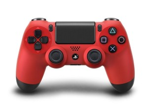 JOYSTICK SONY PS4 RED