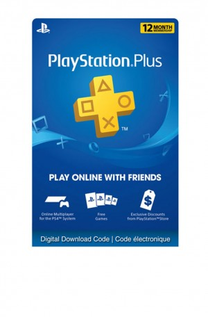 MEMBRESIA PLAYSTATION PLUS 12 MESES