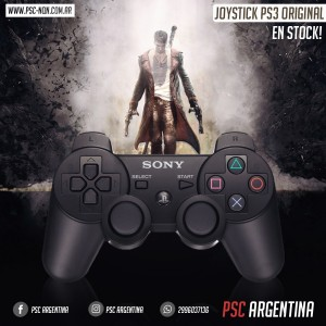 JOYSTICK SONY PS3 BLACK