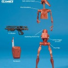BATTLE DROID MH04 (STAR WARS MOVIE HEROES)